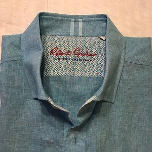Robert Graham Bozeman MEN's  short sleeve shirt